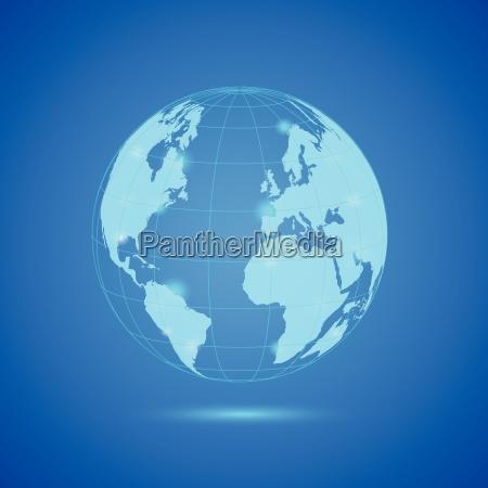 earth illustration