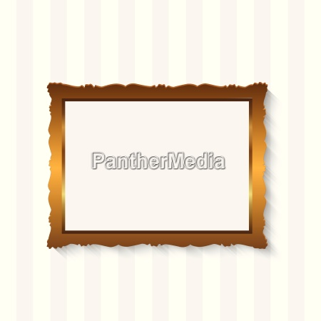 picture frame golden