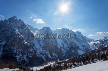 mountains wilder kaiser in tyrol in