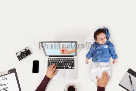 motherhood working concept