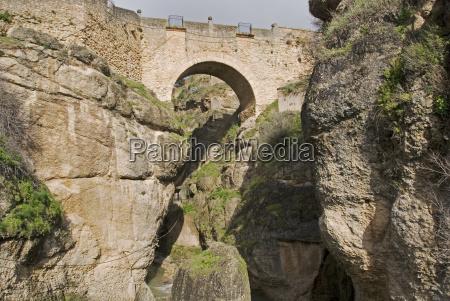 ponte nuevo brucke ronda andalusia spain