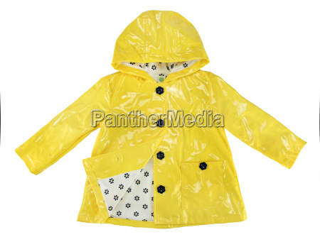 elegance rain jacket yellow for
