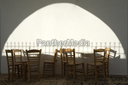 furniture greece emptiness void greek chairs