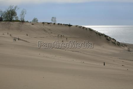 the dunes of mount baldy indiana