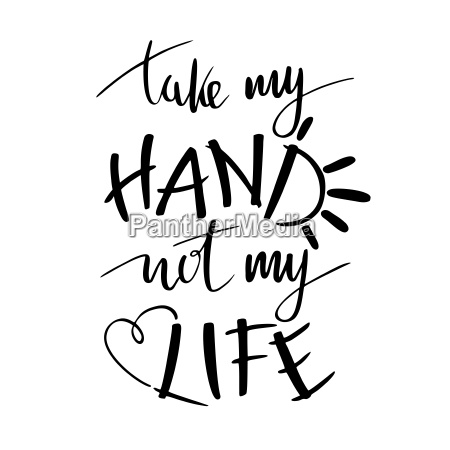 hand lettering typography poster romantic quote