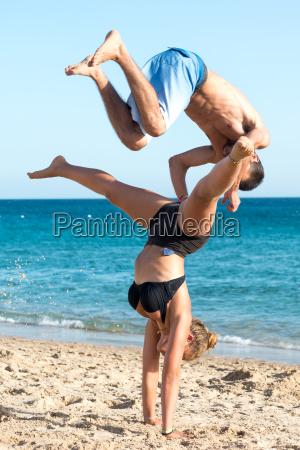gimnastics in summer