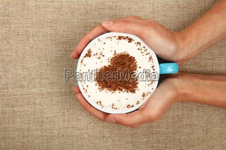 donna chiudere bicchiere mano mani bere