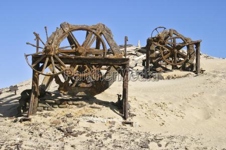 blue desert wasteland tackle engine drive