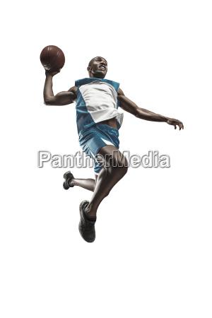 full length portrait of a basketball