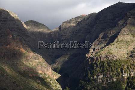 mountains europe spain rock valley islands