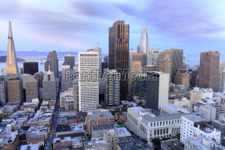 san francisco financial district view from