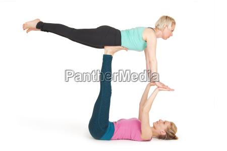 yoga women position180