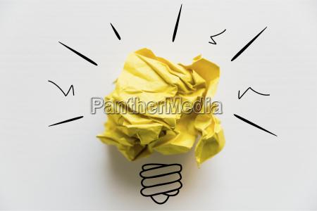 creative idea concept of idea and