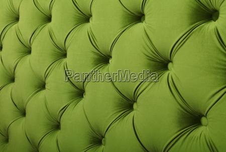 green textile capitone background texture
