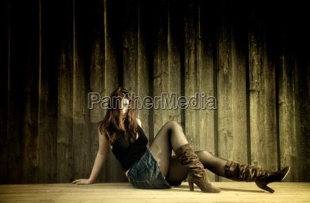 woman boot skirt humans human beings