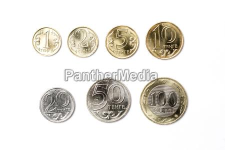 coins from kazakhstan