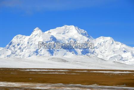 mountains asia summit asiatic deserted to