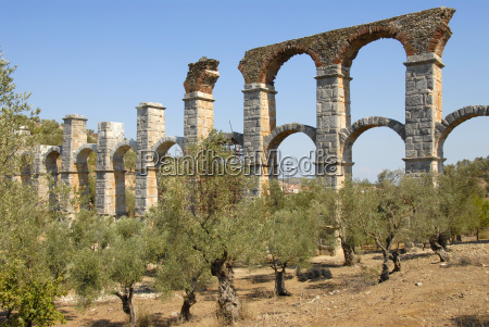 archaology long double bodied aquaduct from