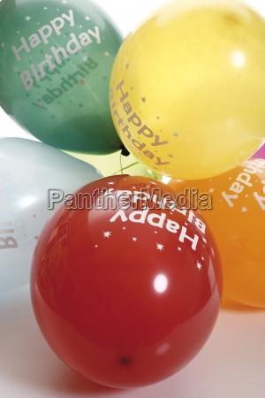 balloons happy birthday