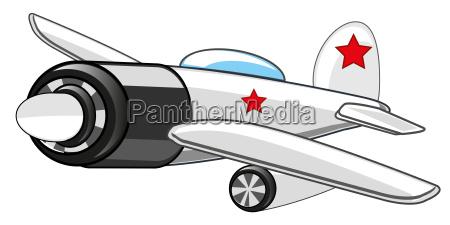 warplane fighter drawing