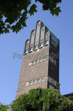wedding tower on the mathildenhohe darmstadt