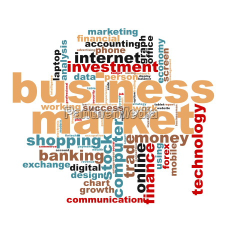 business market word cloud