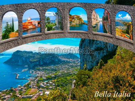 the beautiful capri island