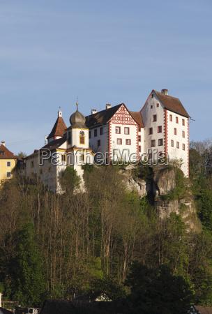egloffstein castle french switzerland upper franconia