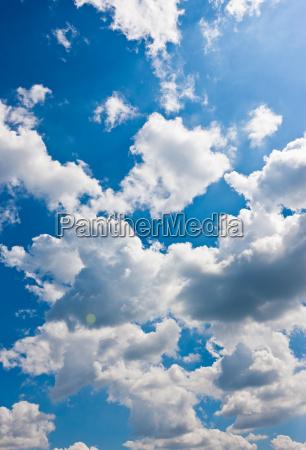 blue cloud summer summerly cloudy deserted