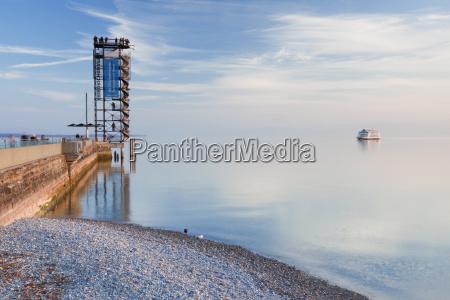 tower waters ships sailing boat sailboat