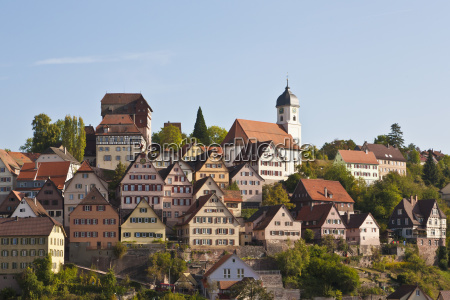 old town in altensteig black forest
