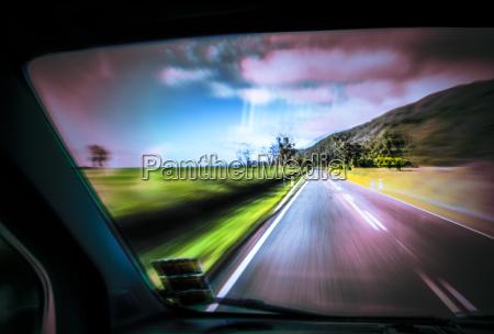 drive danger travel symbolic colour risk