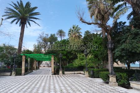 park in cadiz andalusia