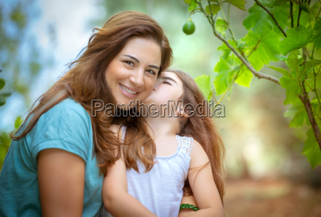 love of mother and daughter