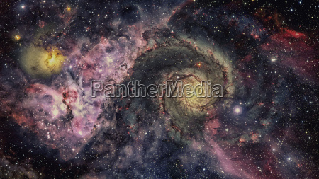 stars and galaxy space elements of