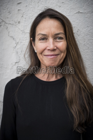 portrait of brown haired middle aged