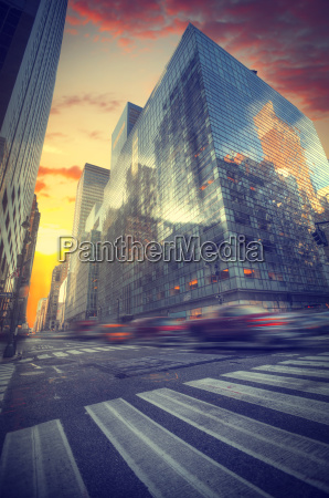 new york city manhattan skyline usa
