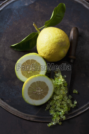 whole and half citron citronat and