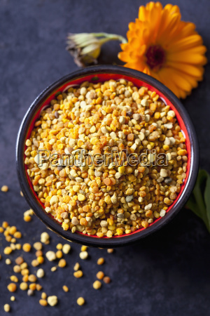 bowl of nutritional supplement