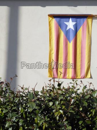 spain catalonia catalonian flag