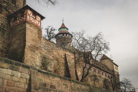 germany bavaria nuremberg imperial castle