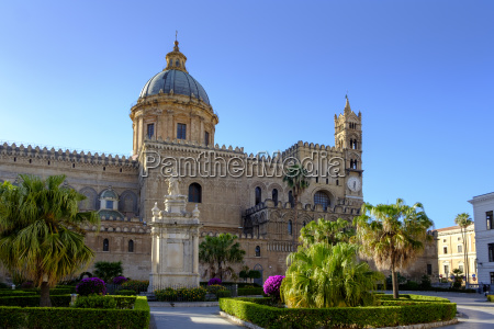 italy sicily palermo palermo cathedral