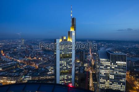 germany hesse frankfurt financial district commerzbank