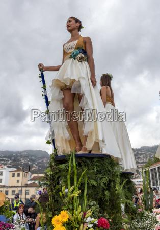 annual parade of the madeira