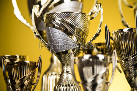 award winning trophy sport background