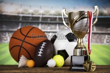 winner trophy sport equipment and