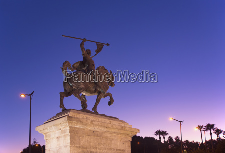 spain andalusia seville statue against clear
