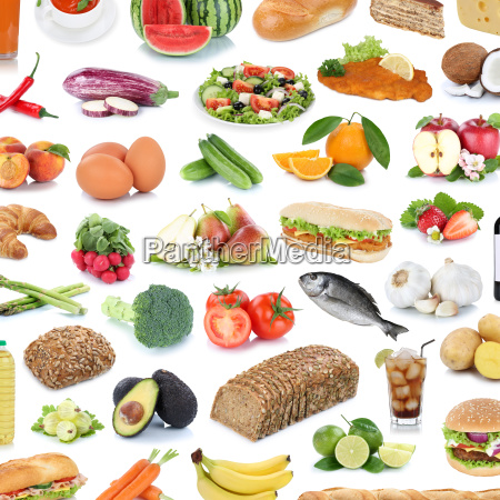 food collection background fruits and vegetables