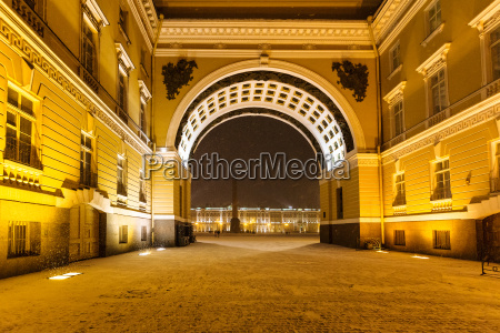 arch of general staff building in