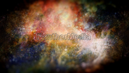 nebula and galaxy in space elements